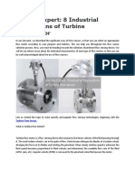Ask the Expert 8 Industrial Applications of Turbine Flow Sensor