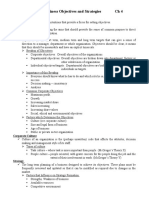 Business Objectives and Strategies.doc