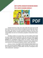 Download Paket Super Lengkap 88 eBook Bisnis Dahsyat