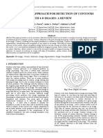 An Evaluation Approach for Detection of Contours With 4-d Images a Review