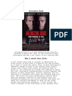 Textual Analysis Arlington Road
