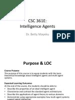 CSC 361E Lesson 1