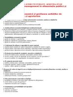 Grile Model Subiecte Publice
