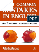 Most Common Mistakes in English Sample