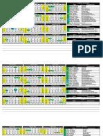 Feriados 2014-2015-2016-2017