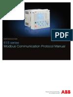ABB 615 Series Modbus Communication Protocol Manual_L