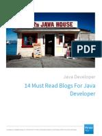 14 Must Read Blogs for Java Developer