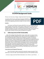 u of c Model Un Ecofin
