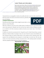 Ayurvedic Plants and Information
