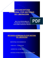 Anticoncepcion Hormonal Liberacion 2005