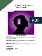 Objeto de Estudio de La Psicologia