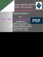 Bpm en Industria Farmaceutica