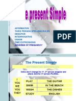 Aula Present Simple Tense Complete