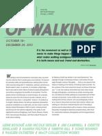 Of Walking