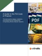 Vesda Fia Code Booklet