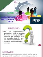 Liderazgo y Lider - Exposicion