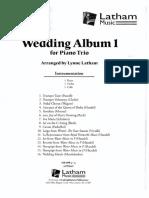 Wedding Book 1 Piano Trio