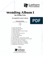 Wedding Book 1 Piano Trio