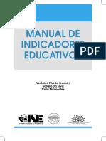 2009- Manual de Indicadores Educativos