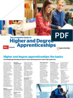 Higher and Degree Apprenticeships - NAS Which Uni - Web