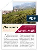 Wine Spectator december 2016 - Amarone's great divide by Alison Napjus