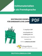 Lernen Deutsch als Fremdsprache