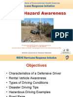Driving Hazard Awareness