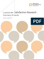 Customer Satisfaction Report June Oct 2012