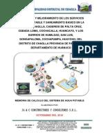 MEMORIA DE CALCULO DE AGUA POTABLE_CHAGLLA.pdf