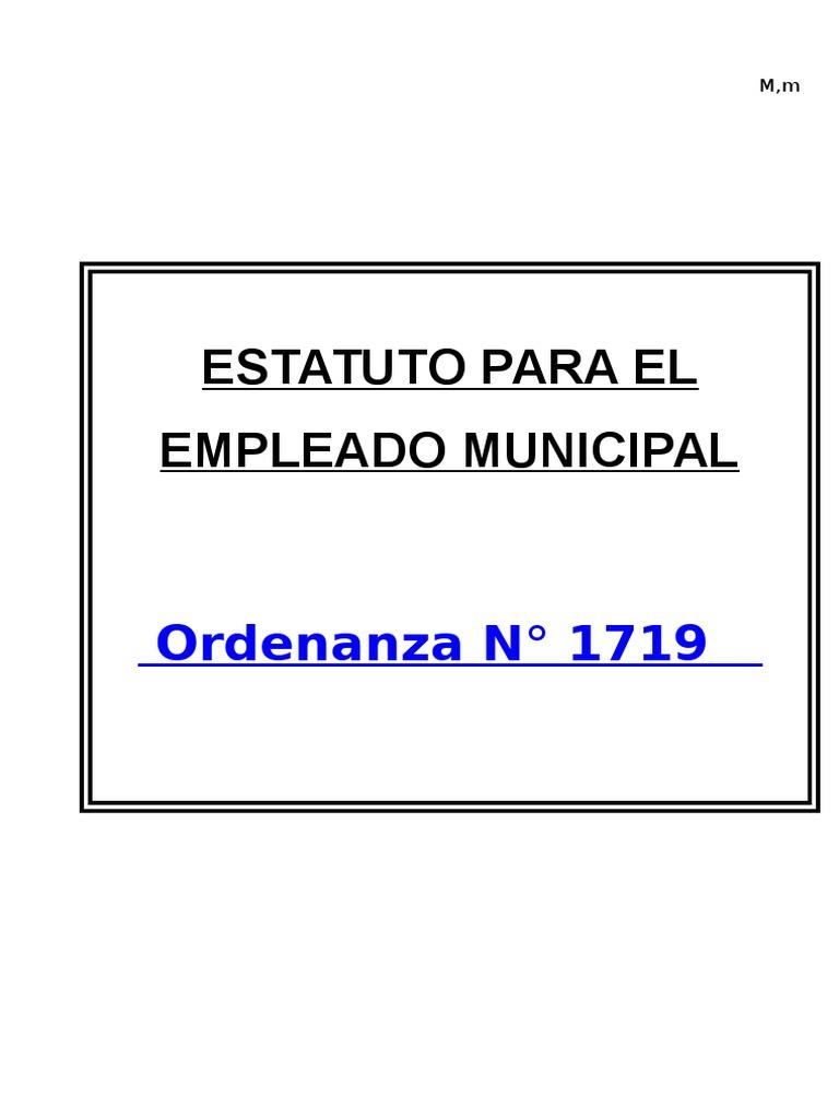 Estatuto Municipal Resistencia