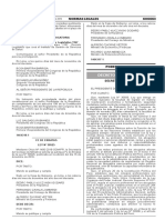 Decreto Legislativo Nº 1265