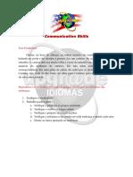 Communication Skills - Produção de Texto 1