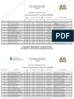 Resultado Pré - Matrícula 2017