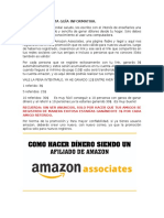 Gana Dolares en Amazon FACIL y RAPIDO