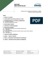 Reglamento de Redes de Distribucion en Urbanizaciones Especiales