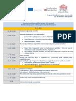Nacionalna konferencija ''Osnovna prava, javne politike i prakse - EU standardi''