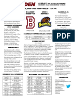 bearden karns football game notes