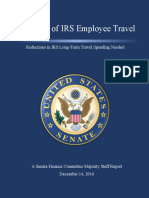 A Review of IRS Employee Travel