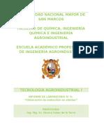 Informe 6 Elaboracion de Conserva de Melocoton