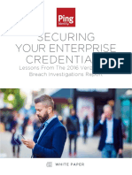 Securing Your Enterprise Credentials