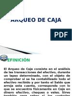 Arqueo de Caja (1)