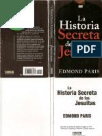 Historia Secreta de los JESUITAS_Edmon Paris