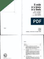Carpio, Adolfo-El Sentido de La Historia de La Filosofía-Ed. Eudeba 1977