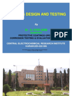 Coating Design and Testing