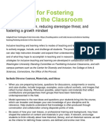 strategies for fostering inclusion in the classroom
