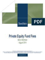 Private Equity Fund Fees