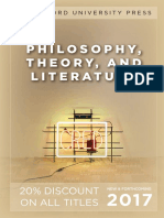 Philosophy and Literature 2017 catalog