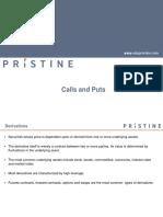 Calls and Puts
