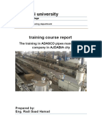 pipes manufacture Training