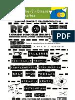 I Jornadas de Recicaje Creativo Rec On Bilbao 25/26/27 junio / I Sormeneko Birziklapeneko Jardunaldiak Bilbon ekainak 25/26/27